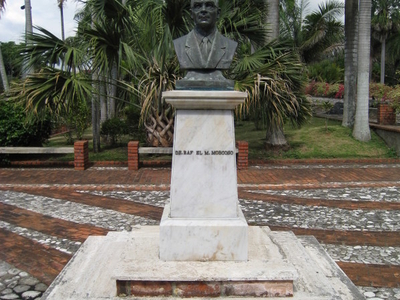 Dr  Rafael  Ma  Mascoso  Bust
