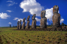 Easter Island Archaeological Ruins