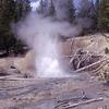 Ebony Geyser - Yellowstone - USA