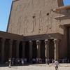 Inside The Temple Of Edfu