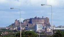 Edinburgh Castle From St John's Road