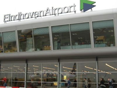 Eindhoven Airport Sign