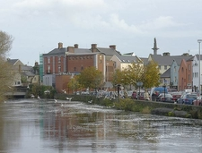 River Fergus Going Through Ennis