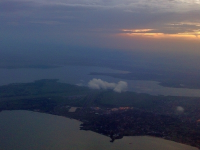 Sunset Over Entebbe