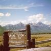 Entering Grand Teton National Park WY