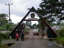 Entrance To Kilimanjaro National Park