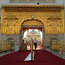 Entrance To Golden Temple Amritsar