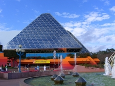 Glass Pyramids Of Imagination - Epcot