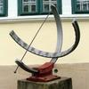 Equatorial Sundial, Hungarian Geographical Museum, Érd, Hungary