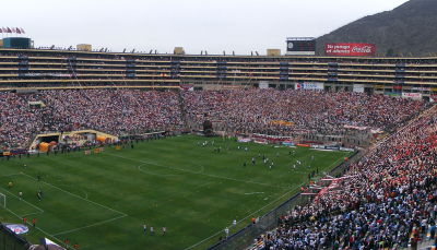 Panoramic View Of Estadio Monumental