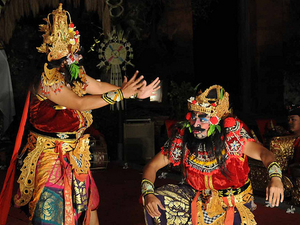 Evening Bali Exotic Dance Photos