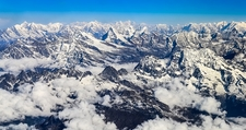 Everest Range In Sagarmatha NP Nepal