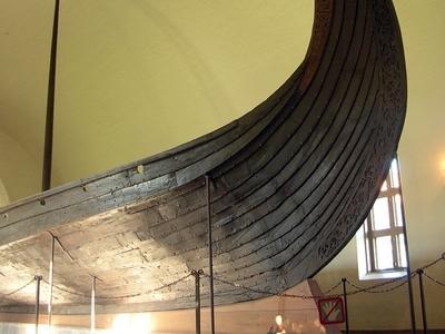 The Oseberg Ship Prow