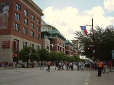Exterior Of Minute Maid Park