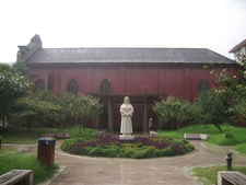 Statue Of Sr. Hacard