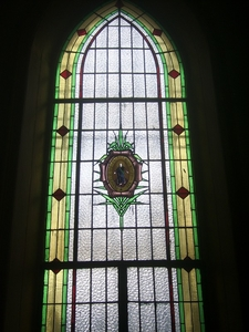 Stained-Glass From The Hospital Chapel