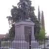 Statue In Plaza Alsina