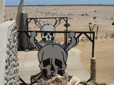 Entrance  To   Skeleton   Coast   National   Park
