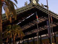 Santiago Estacin Central Railway Station