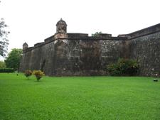 Exterior Fuerte De Omoa Honduras