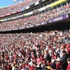 Redskins Fans At FedEx Field
