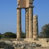 Ruins Of Apollo Temple At The Acropolis Of Rhodes