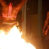 Fire Dancers On Saint Lucia
