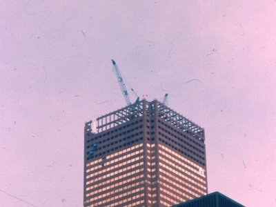 First  Canadian  Place Under Construction