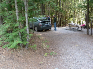 Fish Creek Campsite - Glacier - Montana - USA