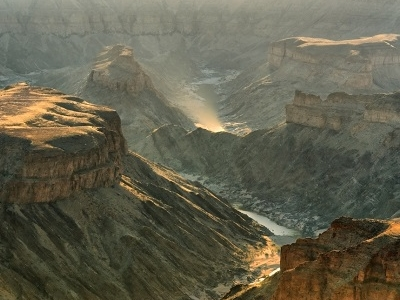Fish River Canyon View In Namibia