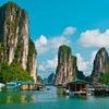 Floating Fishing Village In Halong Bay