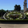 Main Plaza With Flower Clock