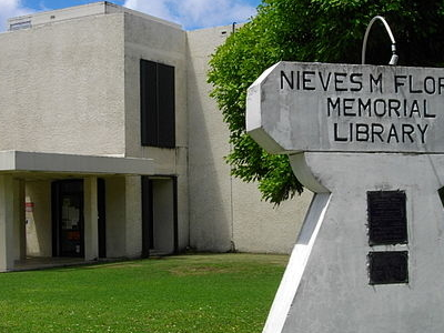 Flores Memorial Library In Hagatna
