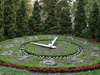 Flower Clock-Szkesfehrvr