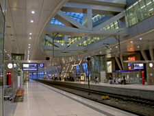 Airport Long-Distance Rail Station Frankfurt Am Main