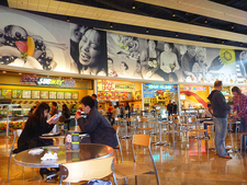 Food Court At Fashion Show Mall