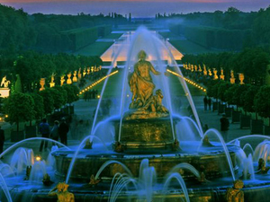 Versailles Gardens Ticket: Night Fountains Show Photos