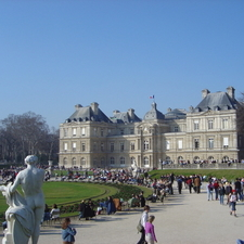 Luxembourg Palace And Gardens