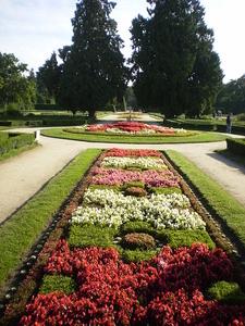 Front Side Of Lednice Garden