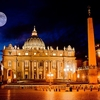 Full Moon Over Vatican Palace