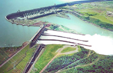Full View Of Itaipu Dam
