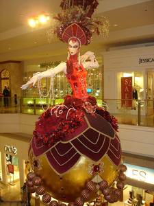 Fashion Show Mall Christmas Decor