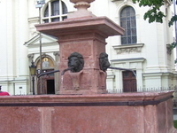 Fountain Four Lions