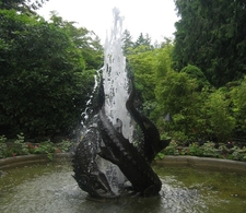 FountainIn Butchart Gardens