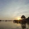 Gadsisar Lake Sunset