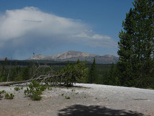 Gallatin From Norris Geyser Basin