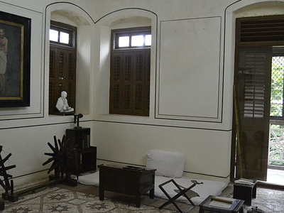 Gandhi's Room At Mani Bhawan