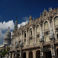Garcia Lorca Theater In Havana