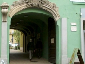 Gate of Grassalkovich House