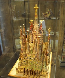 Gaudí's Model Of The Completed Church